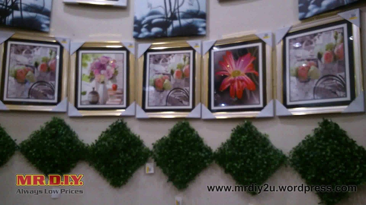 Diy Deco Dinding Rumah Youtube