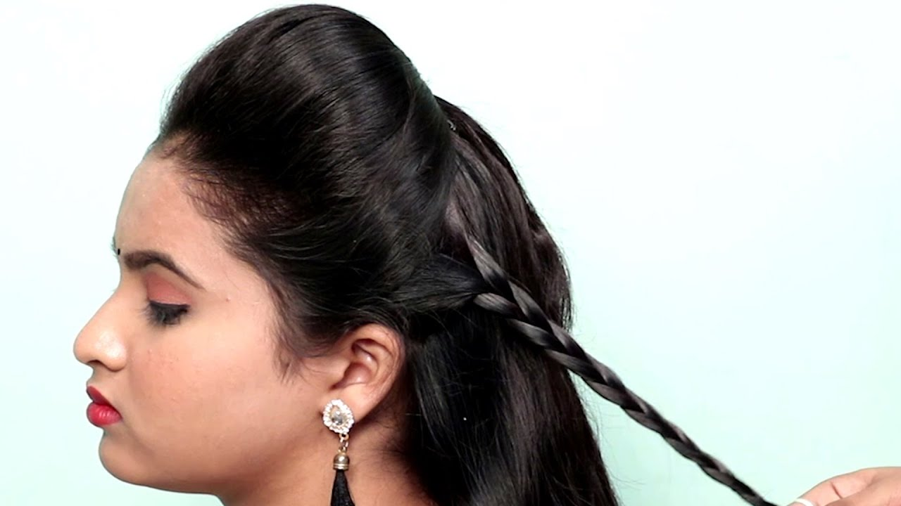 Side braid hairstyles | Different Hairstyle For 1 Week | For Medium to Long Hair