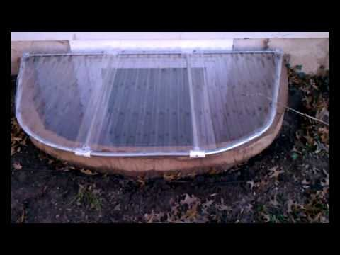 how to build a crawl space cover