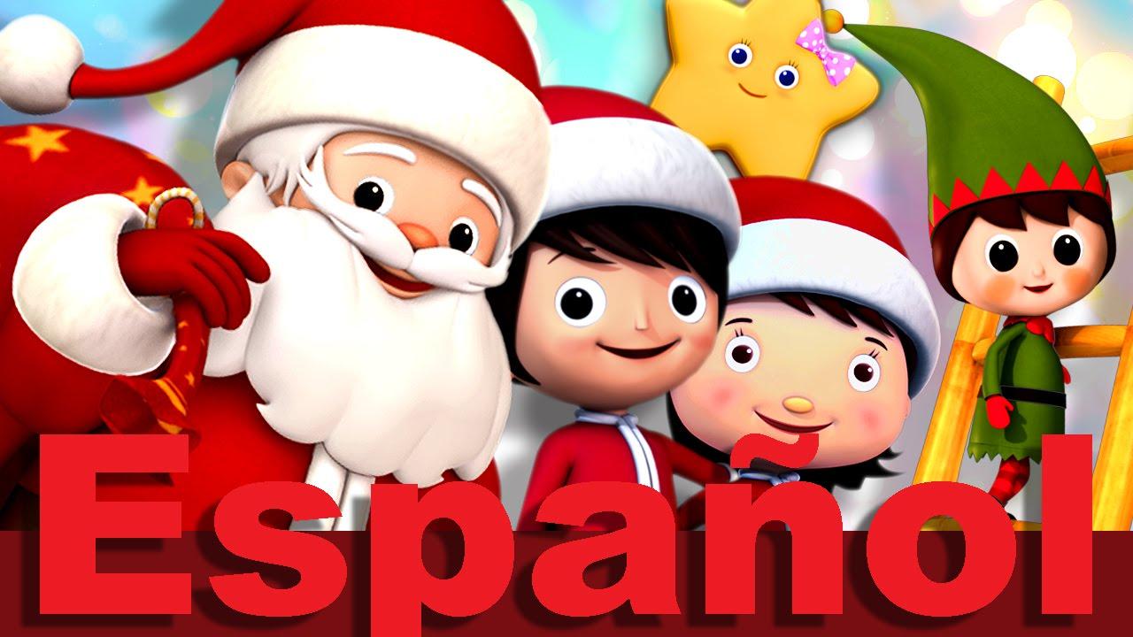 Escuchar Cancion Feliz Navidad.Feliz Navidad A Todos Villancico Canciones Infantiles Littlebabybum