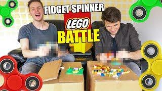 FIDGET SPINNER AUS LEGO | MINECRAFT MASTERBUILDER IN REALLIFE