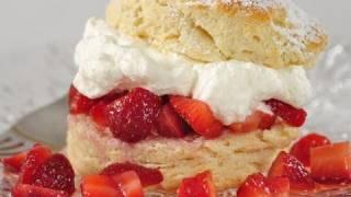 Strawberry Shortcake Recipe Demonstration - Joyofbaking.com