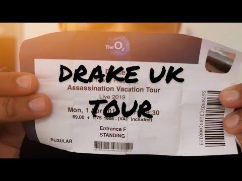 GETTING DRAKE UK TOUR TICKETS!