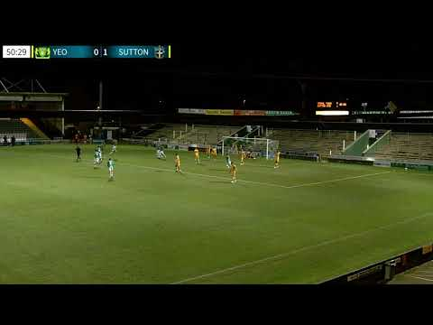 Yeovil Sutton Goals And Highlights