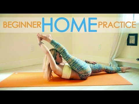 Gentle Yoga and Meditation, Beginner Home Practice with Kino