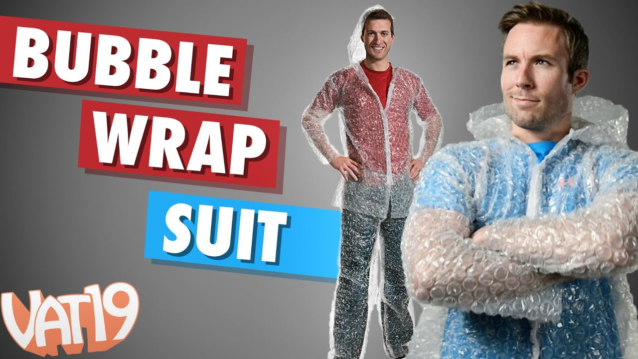 The Suit Made from Bubble Wrap image
