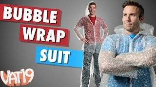 The Suit Made from Bubble Wrap