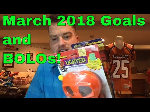 March '18 Goals, Thrift Haul, BOLO and Transitioning Between Thrifting and Liquidation