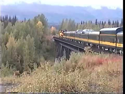 Alaska Railroad full length domes Anchorage to Fairbanks 9-7-2002