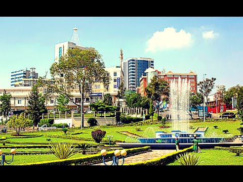 1st impression:Arriving in Kigali capital of Rwanda. 2018