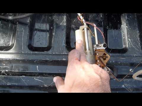 fuel sending unit repair | ford f250 / f350 7 3l powerstroke diesel -  youtube