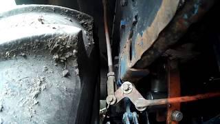 мТз-82 Переробка важеля підвищеної - зниженої