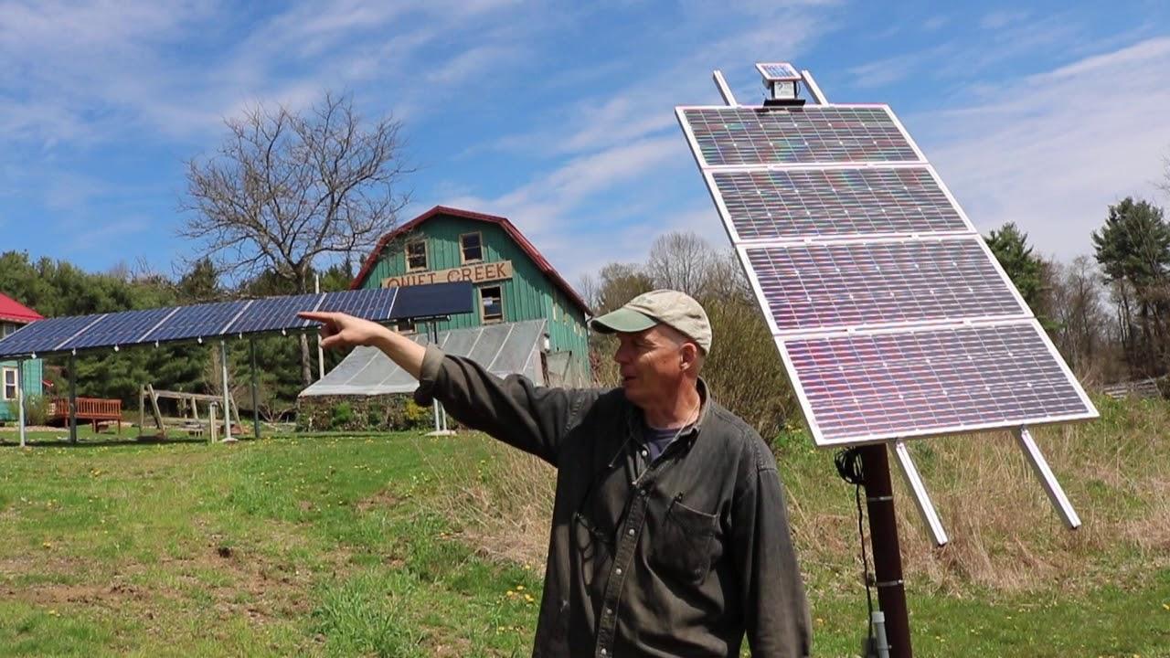 Virtual Solar Tour Quiet Creek Herb Farm Brookville Pa Youtube