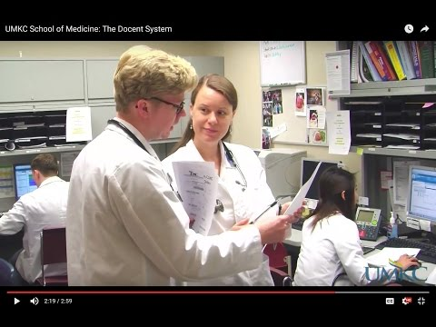 UMKC School of Medicine: The Docent System