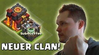 [facecam] NEUER CLAN! || CLASH OF CLANS || Let's Play CoC [Deutsch/German HD]
