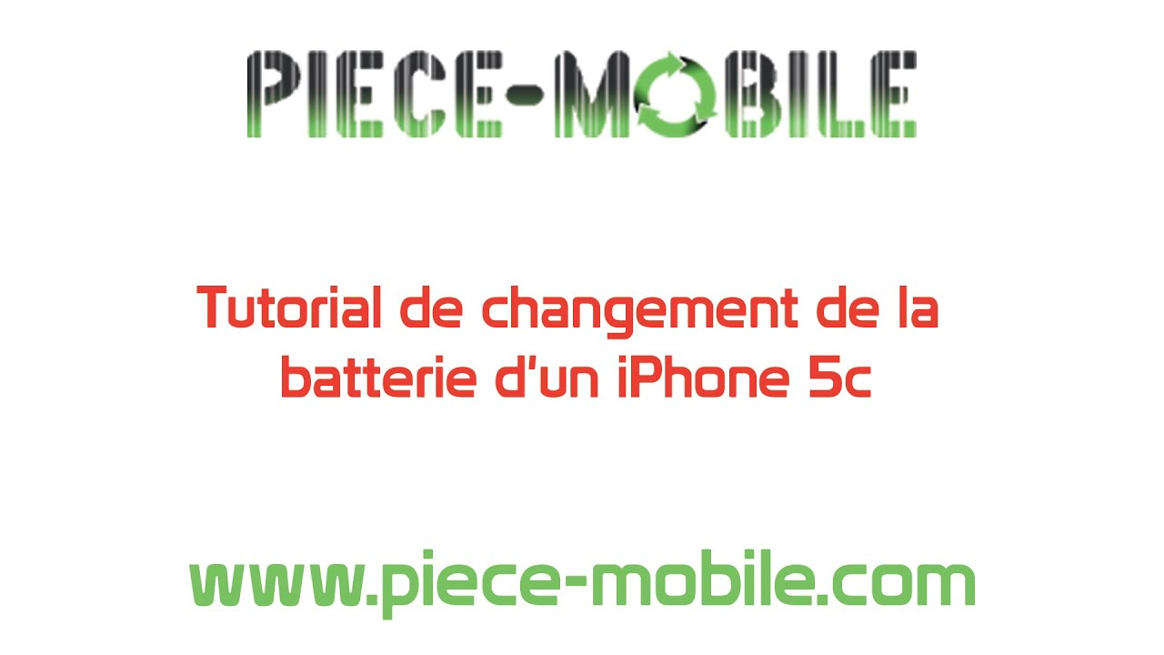 changement de la batterie d 39 un iphone 5c youtube. Black Bedroom Furniture Sets. Home Design Ideas