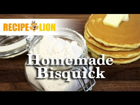 How To Make Homemade Bisquick - YouTube