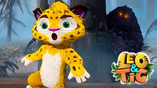 LEO and TIG 🦁 NEW 🐯 Episode  23 - The Burnt Forest Mystery ❤️ Moolt Kids Toons Happy Bear