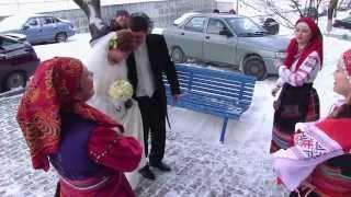 """Ансамбль народной песни """"ОКОЛИЦА"""" выкуп невесты"""
