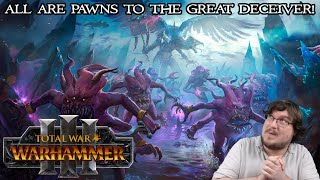 Tzeentch Trailer and Mechanics Reaction & Analysis! ALL ARE PAWNS TO THE GREAT DECEIVER!