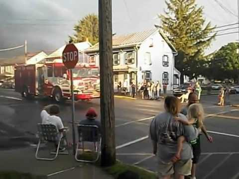 Shartlesville Lights and Sirens Parade 2012 (Part 2) - YouTube