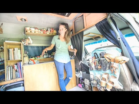 """She ABANDONED The """"Normal Life"""" & Took A Chance On VAN LIFE"""