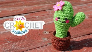 Amigurumi Cactus - Super Cute Crochet Along Tutorial