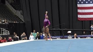 Kaylen Morgan – Floor Exercise – 2019 U.S. Gymnastics Championships – Junior Women Day 2