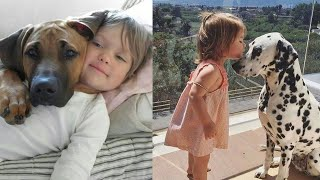 Cute Baby Playing With Dog Compilation -  Funny Dog's Life