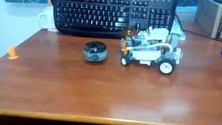 Martian Pacifier - LEGO Power Functions Mini-Car