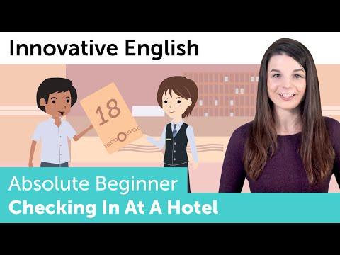 Checking in at a Hotel - Innovative English