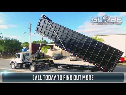 Globe Trailers: Demolition End Dump Trailers