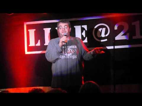 Comedian Joe Ellis at Live @ 212 on Feb. 17, 2016