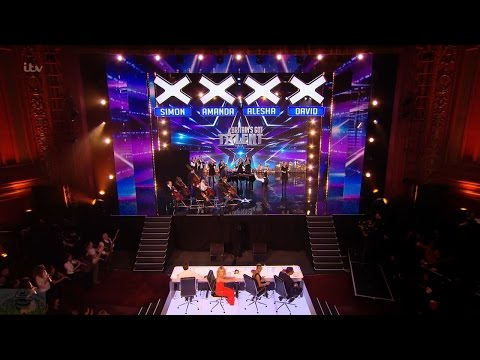 Britain's Got Talent 2016 S10E01 Nicholas Bryant and His Surprise Collaborative Orchestra Full