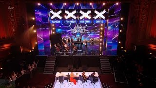 Britain's Got Talent 2016 S10E01 Nicholas Bryant and His Surprise Coll