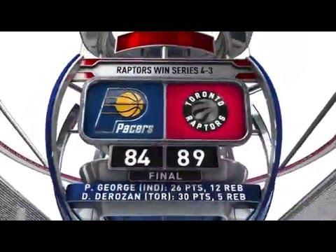 Indiana Pacers vs Toronto Raptors - May 1, 2016
