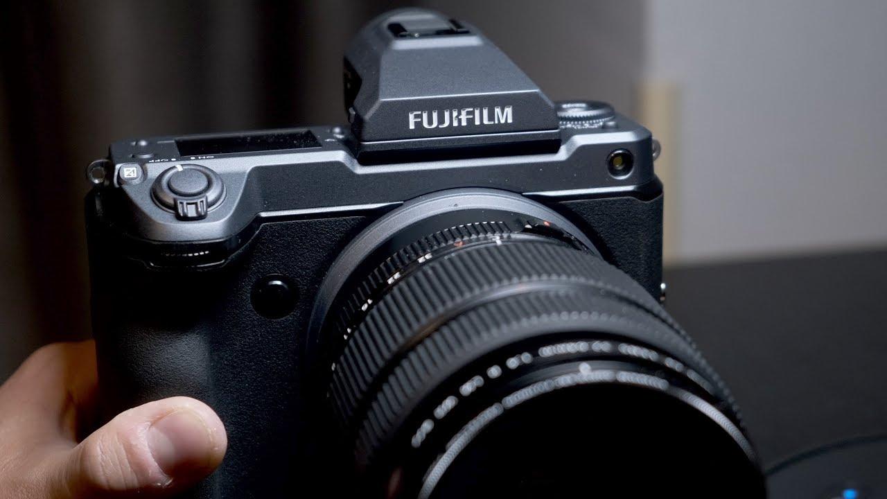 Fujifilm GFX 100 — среднеформатная фото и видео камера за