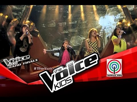The Voice Kids Philippines Finale BasangBasa Sa Ulan  Lyca & Aegis