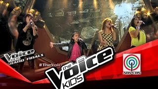 "The Voice Kids Philippines Finale ""Basang-Basa Sa Ulan"" by Lyca & Aegis"