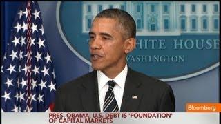 Obama: Not Raising Debt Limit Will Be Destabilizing