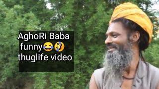 Thug life aghori baba comedy video
