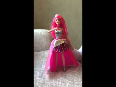 Courtney Rock N Royals Singing Pop Star Barbie Doll