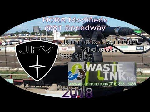 NCRA Modifieds #18, B Main, 81 Speedway, 05/26/18