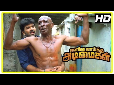 Enakku Vaaitha Adimaigal Movie s  Jai wants Rajendran to surrender  Kaali Venkat