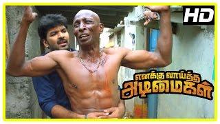 Enakku Vaaitha Adimaigal Movie Scenes   Jai Wants Rajendran To Surrender   Kaali Venkat