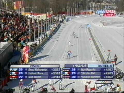 Olympiasieg Georg Hettich Turin 2006 (2/2)