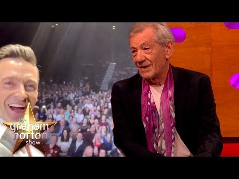 Hugh Jackman Got 30,000 People To Sing Happy Birthday To Sir Ian McKellen   The Graham Norton Show