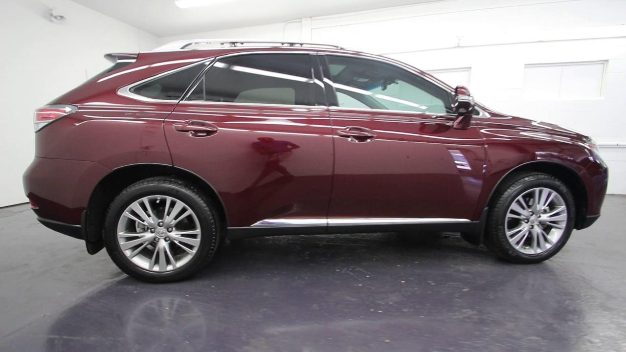 Honda Of Seattle >> 2013 Lexus RX 350 | Fire Agate Pearl | DC217156 | Seattle | Renton - YouTube