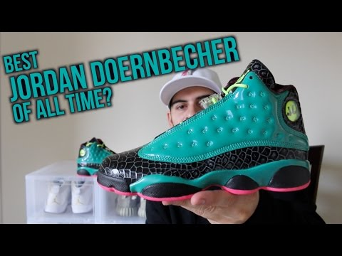 DB Jordan 13! The Best Doernbecher of All Time?