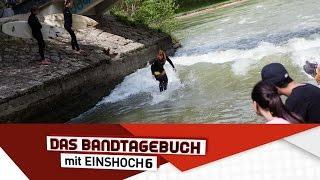 Deutsch lernen mit Musik (B1/B2)   Das Bandtagebuch mit EINSHOCH6   Surfen an der Isar
